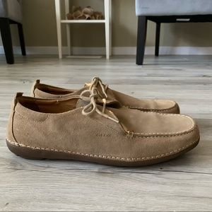 NWOT Men's Geox Respira suede leather shoes